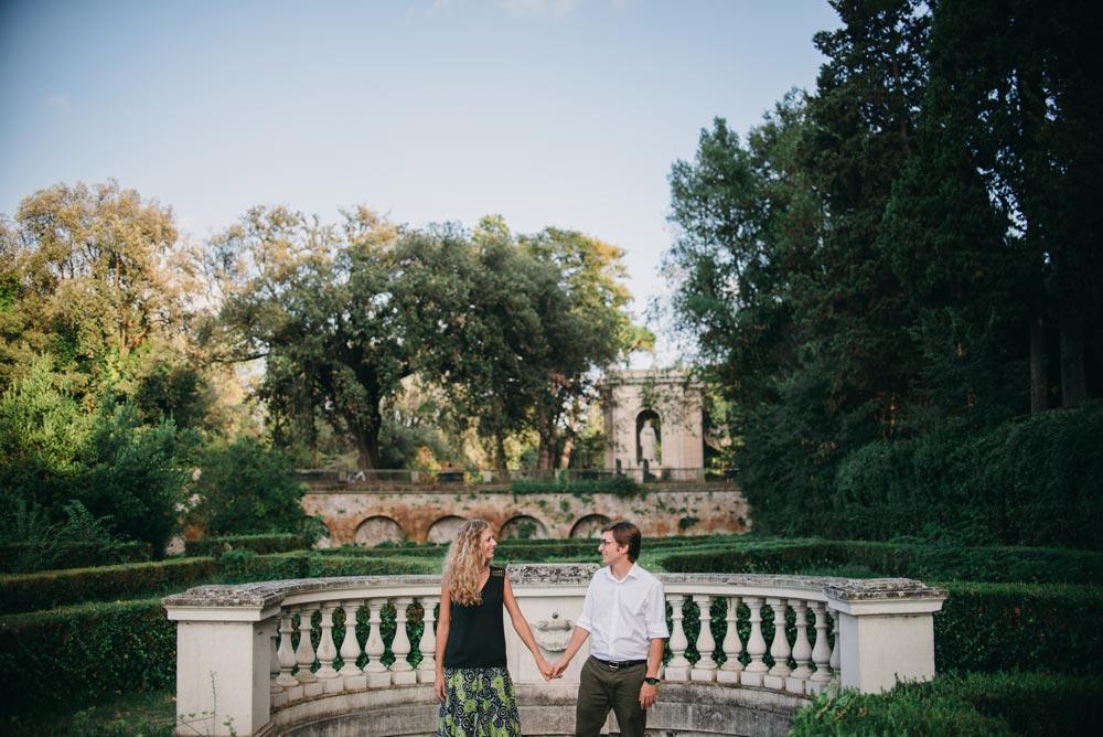 engagement villa borghese