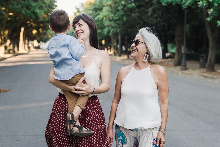 servizio fotografico famiglia al parco family session roma